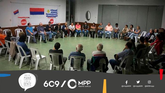 El MPP, Mate en Mano y con la Gente en Tacuarembó