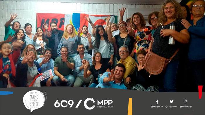 El MPP, Mate en Mano y con la Gente en Lavalleja