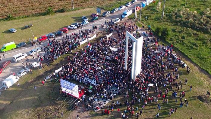Espacio Memorial Penal de Libertad en homenaje a los recluidos durante la dictadura