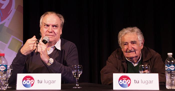 """Con Pepe Mujica y Juan Raúl Ferreira el Espacio 609 hizo su relanzamiento. """"Las pasiones son inevitables, pero son evitables los fanatismos"""""""