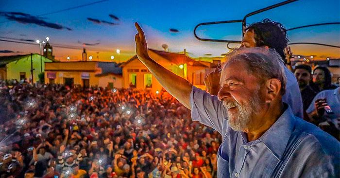 Lula: Brasil debe decidir entre civilización y barbarie, entre democracia y fascismo