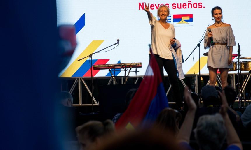 Carolina Cosse en los 48 años del FA: «la fuerza transformadora del humanismo»