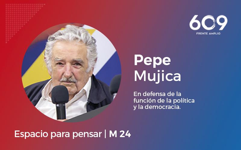 Pepe Mujica presentó 16 medidas en defensa de la política y la democracia