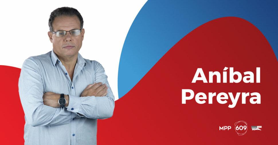 Aníbal Pereyra, MPP - 609