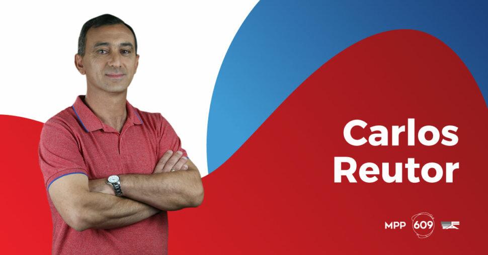 Carlos Reutor, MPP - 609.