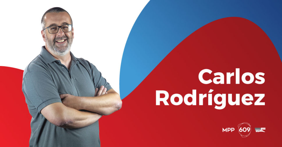 Carlos Rodríguez, MPP - 609.