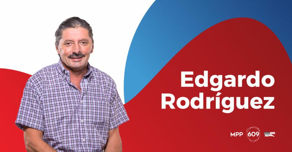 Edgardo Rodríguez, MPP - 609.