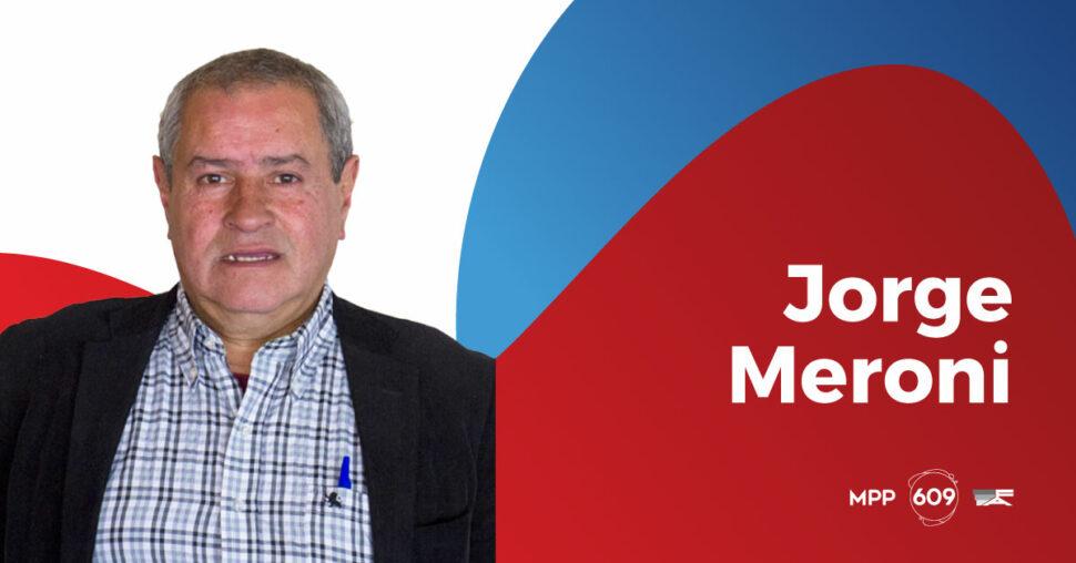 Jorge Meroni, MPP - 609.