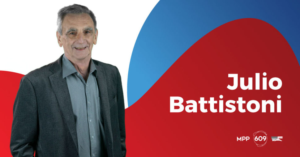 Julio Battistoni, MPP - 609