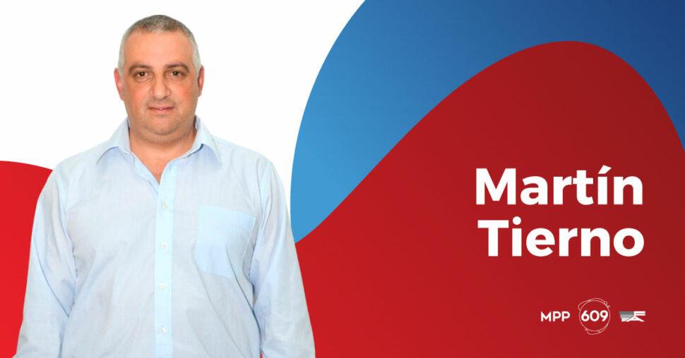 Martín Tierno, MPP - 609.