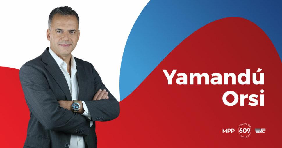 Yamandú Orsi, MPP. 609.