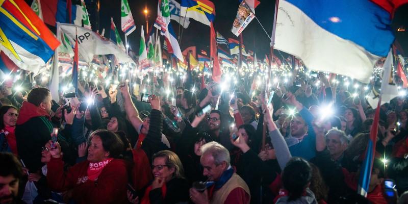 El Frente Amplio es la mayor fuerza política de Uruguay y dijimos no al miedo, ahora: ¡a redoblar!