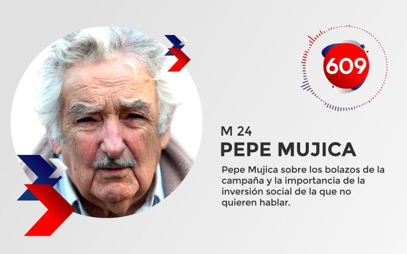 Pepe Mujica sobre los bolazos de la campaña y la importancia de la inversión social de la que no quieren hablar